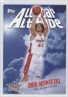 Dirk Nowitzki Nba All-Star Team (Basketball Card) 2005-06 Topps All-Star Altitude #As-Dn