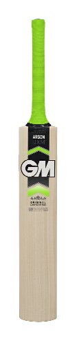Gunn and Moore Junior Argon Cricket Bat - Natural/Green, Size 0