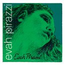Pirastro D Synthetic/Silver Mittel Envelope For Violin 3/4-1/2 Evah Pirazzi