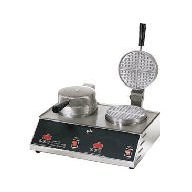 Star Manufacturing SWB7R2E CSA Standard Double Waffle Baker, 7 in. from Star