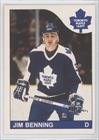 Sale alerts for O-Pee-Chee Jim Benning Toronto Maple Leafs (Hockey Card) 1985-86 O-Pee-Chee #250 - Covvet