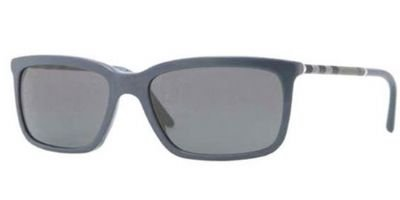 Burberry  Burberry BE4137 Sunglasses-335587 Blue (Gray Lens)-57mm