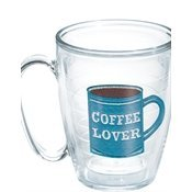 Tervis Tumbler/Mug, 15-Ounce, I Love Coffee