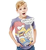 Bart Simpson Sublimation T-Shirt