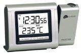 La Crosse Tehcnology Horloge DCF avec projection de l'heure et affichage de la température intérieure