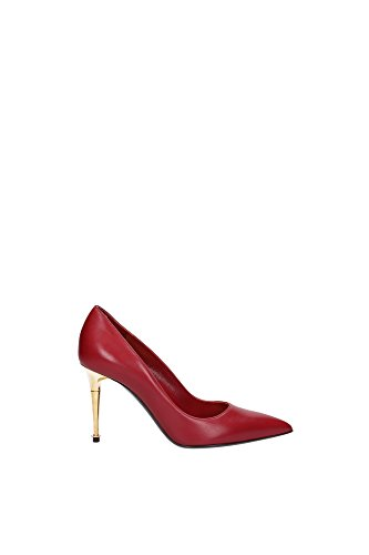 114W1046TSCAARE-Tom-Ford-Talon-Femme-Cuir-Rouge