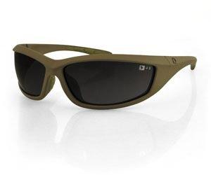 Bobster Zulu Ballistics Eyewear, Coyote Tan Frame,