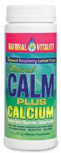 Natural Vitality Natural Calm Plus Calcium Raspberry Lemon 16oz