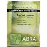 Abra Therapeutics Green Tea Tonic Bath, Green Tea & Lemongrass 3 oz