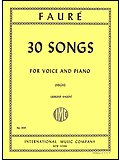 img - for 30 Songs for Voice and Piano (High) book / textbook / text book