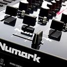 Numark NS7II NS72 NS7 2 NS7ii NS7 ii Serato DJ controller USB DJ turntable direct drive belt drive motorized DJ Mixer 4 deck 4-deck 4 channel touch-activated touch sensitive