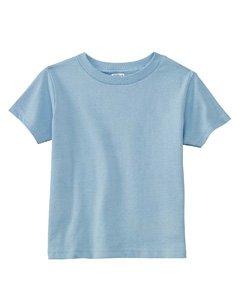Rabbit Skins 5.5 Oz Toddler Short-Sleeve T-Shirt, 2T, Light Blue front-661656