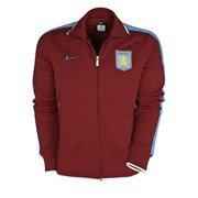 Aston Villa Authentic N98 Jacket - Team Red/University Blue - M 38