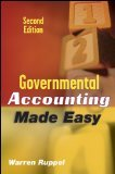 img - for Governmental Accounting Made Easy 2nd Edition by Ruppel, Warren [Hardcover] book / textbook / text book
