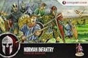 Conquest Games CG2 Norman Infantry x44 28mm Plastic Figures by Conquest Games