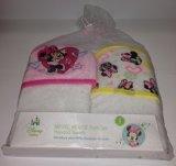 Minnie Mouse Bath Set Hooded Towels