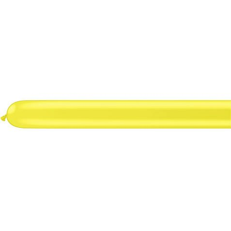 Qualatex 260Q Yellow Tying Balloons (10ct)