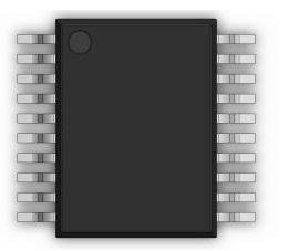Digital to Analog Converters - DAC 3.3V/5V Multiplying 12-Bit Parallel IF (5 pieces)