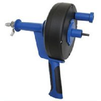 Cobra 86150 1/4-Inch by 15-Feet Pistol Grip Power Drum Auger