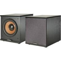 Acoustech H-100 Cinema Series 500-Watt Front-Firing Subwoofer, High-Gloss Black
