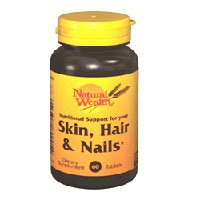 Natural Wealth Skin, Hair & Nails Dietary Supplement Tablets - 60 Tablets