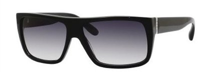 Marc By Marc Jacobs MARC BY MARC JACOBS MMJ 096/S Sunglasses 0D28 Total Black Shiny 57-14-140