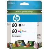 HP CD947FN Combo Pack 60, Tri-Color