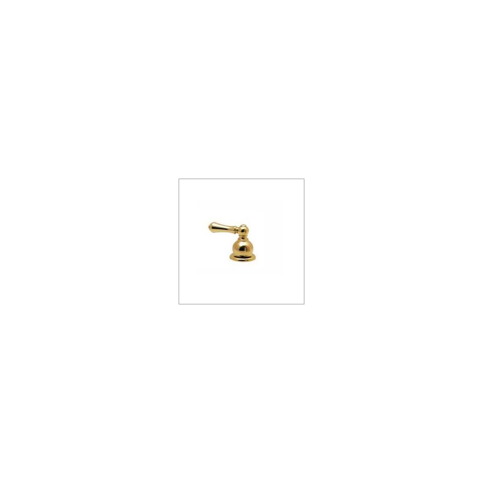 Price Pfister HHL BLBP Metal Lever Handle, Polished Brass