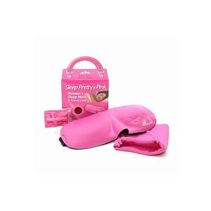 Sleep Pretty In Pink Womens Sleep Mask 1 ea