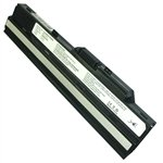 Black Replacement Laptop Battery for Advent 4211, MSI Wind U100, Medion Akoya Mini E1210 2200mAh