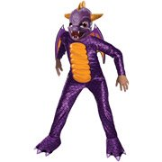 Skylanders Spyro the Dragon Children's Halloween Costume, Size Large (10-12)