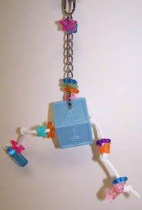 AC 005S Peak-a-Treat 6in x 3in XSmall Bird Toy