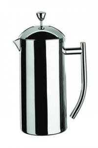 Grunwerg Cafe Stal Double Wall Cafetiere 4 Cup Satin by Fishers Catering Supplies