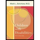 Children With Disabilities (5th, 02) by Batshaw, Mark L [Hardcover (2002)]