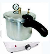 Dental Pressure Curing Pot With Heater 6 Quart