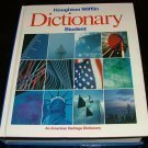 img - for Houghton Mifflin Student Dictionary (An American Heritage Dictionary) book / textbook / text book