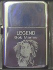 BOB MARLEY THE LEGEND STAR LIGHTER ENGRAVED FREE