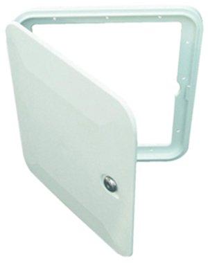 JR Products NBF02 Polar White Multi-Purpose Hatch