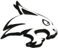 Texas State Bobcats METAL Auto Emblem