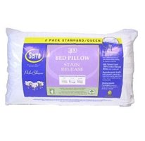 Serta 300 Thread Count Standard/Queen Bed Pillow HypoAllergenic Stain Release - 2 pk