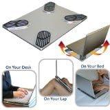 Xpad Slim (Non-slip Laptop Cooler and Heatshield)