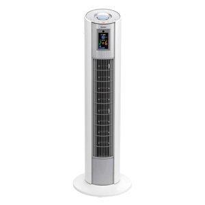 【ピコイオンで除菌・脱臭】TOSHIBA ピコタワー 扇風機(タワー扇) 省スペース ツインタイマー チャイルドロック LEDデジタル表示パネル リモコン首振り ホワイト F-TN5X(W)