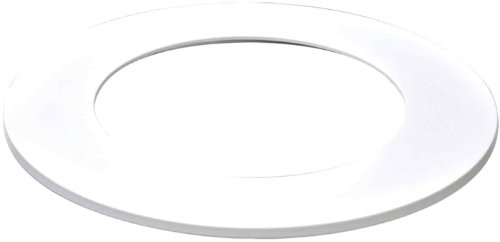 Halo Recessed TRM400WH 4-Inch LED Accessory with Slim Ring, Matte White