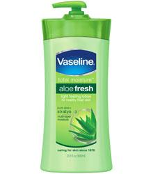Vaseline Total Moisture Body Lotion, Aloe Fresh