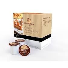 Gloria Jean's Caramel Almond Torte Coffee Keurig K-Cups