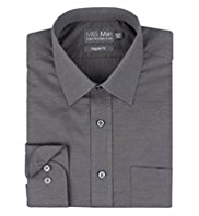 Cotton Rich Quick Iron Shirt