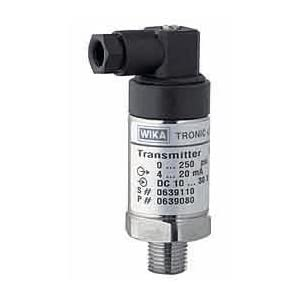 Wika C-10 Pressure Transmitter, 0 to 30 psi: Science Lab Instruments