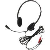 Califone 3065Av Lightweight Headset Mic 3.5Mm 6Ft Via Ergoguys - Stereo - Black - Mini-phone - Wired - 32 Ohm - 20 Hz - 20 kHz - Over-the-head - Binaural - Semi-open - 6 ft Cable - Electret Microphone