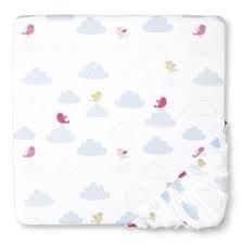 Circo® Crib Sheet - Angel Blue