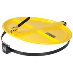 new-pig-corporation-npgdrm659-yw-pig-latching-drum-lid-for-55-gallon-drum-yellow-by-new-pig-corporat